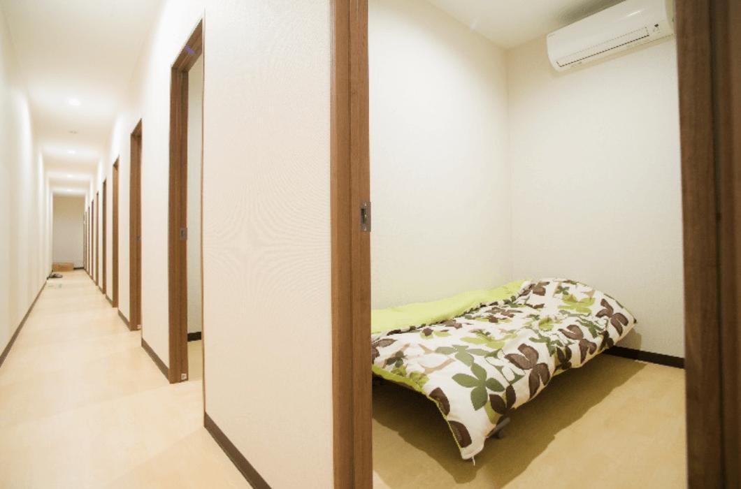 仮眠室・浴室完備