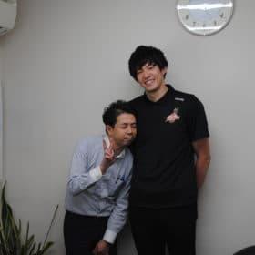 大阪エヴェッサ熊谷尚也選出とツーショット2