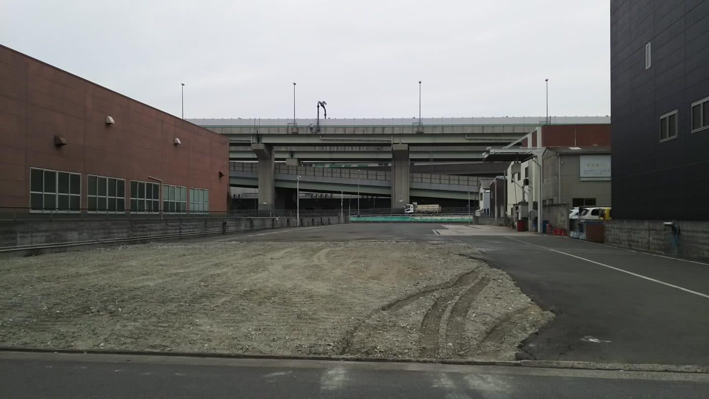 東大阪・水走車庫_山田運送_新社屋建設予定地