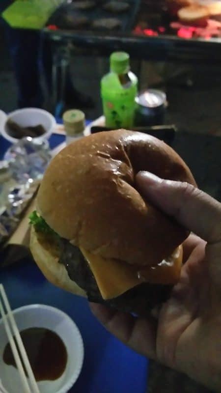 激うまハンバーガー