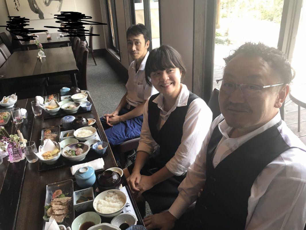 割烹料理「桂川」でお食事