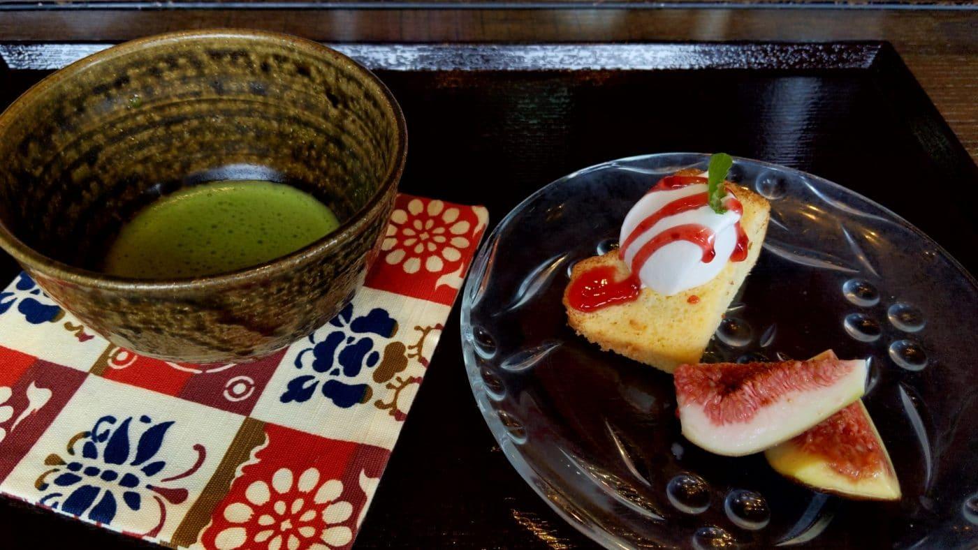桂川のデザート
