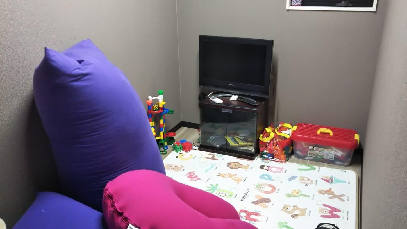 東大阪本社の子供部屋
