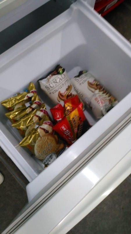 アイス 冷凍庫中身