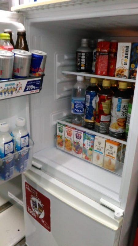 冷蔵庫中身 ジュース