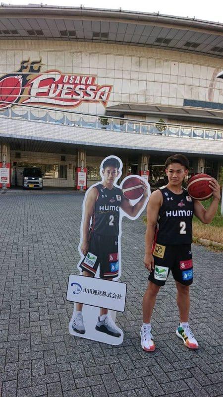 伊藤選手 大阪エヴェッサ